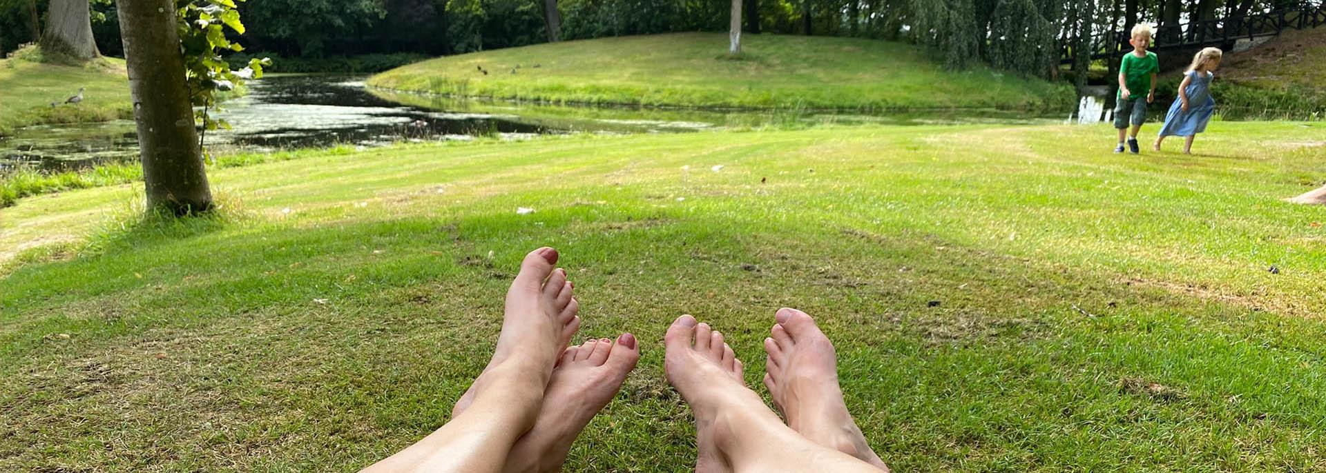 Ontspannende voetreflexmassage